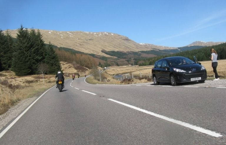 a85--tyndrum-- Route Photo