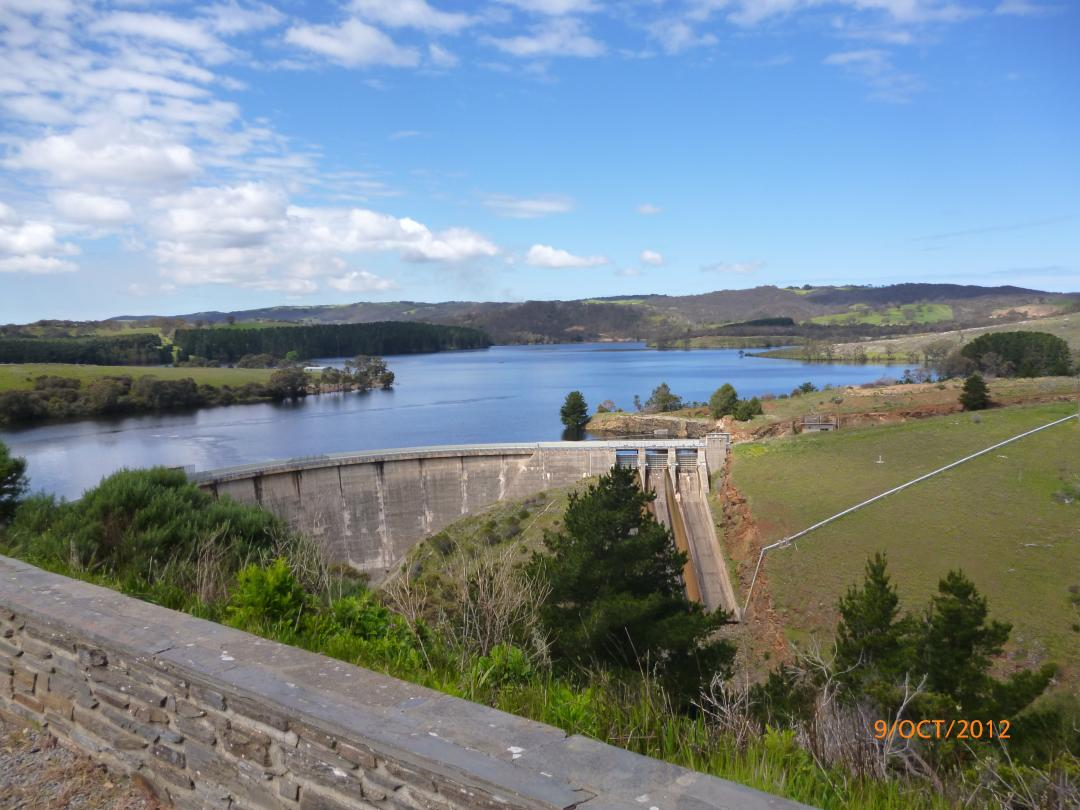myponga-reservoir-- Route Photo